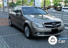 2010 mercedes-benz c200 cgi 1.8 sunroof japan spec