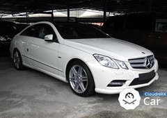 2011 mercedes-benz e250 amg coupe 7g full spec unreg 2011
