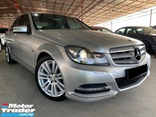 2011 mercedes-benz c-class c200 cgi elegance a free one year warranty t&c very well condition