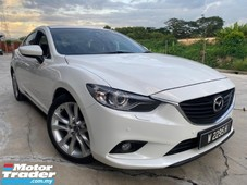 2013 mazda 6 2.5 sdn a tip top condition free one year warranty
