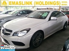 2014 mercedes-benz e-class w207 2.0cc amg uk spec paddle shift electric leather seats amg 18 sport rim free warranty