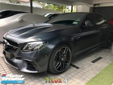 2017 mercedesbenz eclass e63e amg imported new
