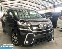 2015 toyota vellfire 2.5zg 360 full leather pre-cash