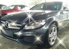 mercedes ben c class spec c200se 20 w205 year 2015 recon on the road rm158888