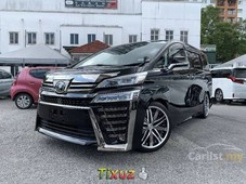 2018 toyota vellfire 25 za edition mpv dim premium warranty showroom condition