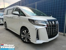 2019 toyota alphard 2.5 sc demo car precrash lta leather unregister offer