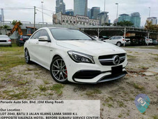 used 2017 mercedes-benz cla45 amg 4matic facelift handcrafted for sale in malaysia 191857 - caricarz.com