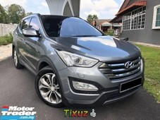 2016 hyundai santa fe 24l executive plus premium high spec one owner original condition like new ca
