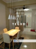 maple residence klang 863sf 2r2b fully furnished