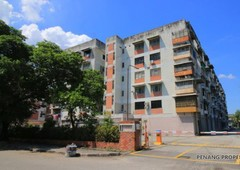 3-bedroom apartment at lucky gardens, sungai nibong, for sale