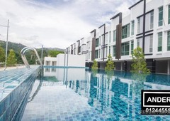 the maven townhouse balik pulau for sale fully furnish special offer airbnb ready