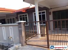 1-sty terrace link house for sale in melaka tengah